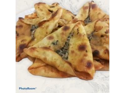Antakya Lezzeti Ispanaklı Üçgen Börek (5 Adet)