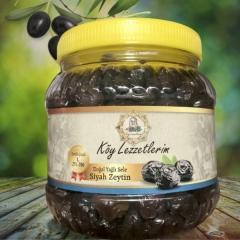 Jumbo Yağlı Gemlik Sele Siyah Zeytin - Net 1kg