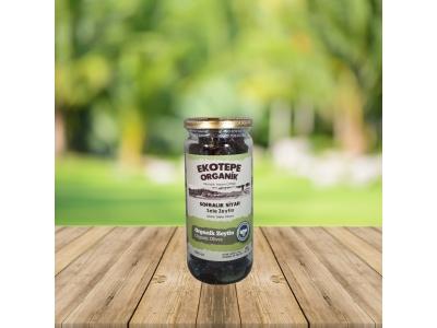 Organik Siyah Sele Zeytin (500 Cc) - Ekotepe Organik