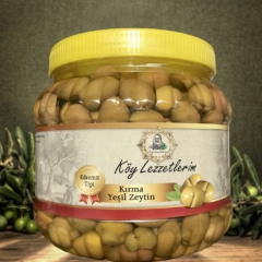 Kırma Yeşil Zeytin Edremit - Net 1kg