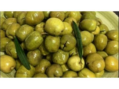 Halhalı Yeşil Zeytin 1kg