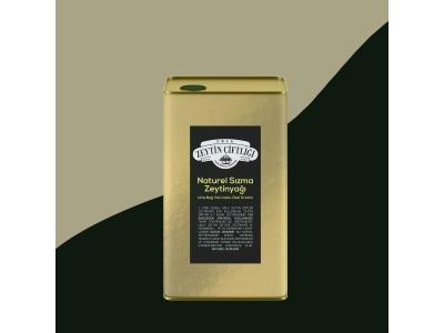 Naturel Sızma Özel Üretim Zeytinyağı - 3 Litre