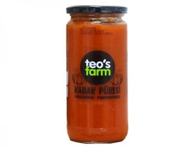 Teo's Farm - Tatlı Kabak Püresi (500 Gr)